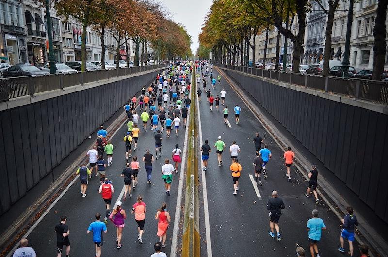 通勤時間をフルマラソンの練習にあてる